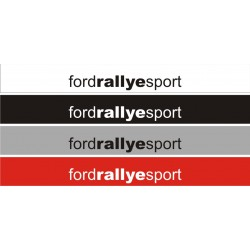 bande de pare brise Ford Rallye Sport