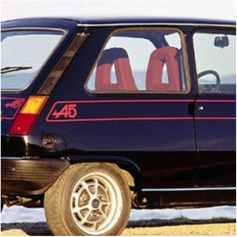 Liserets renault alpine a5 coloris au choix for Auto choix