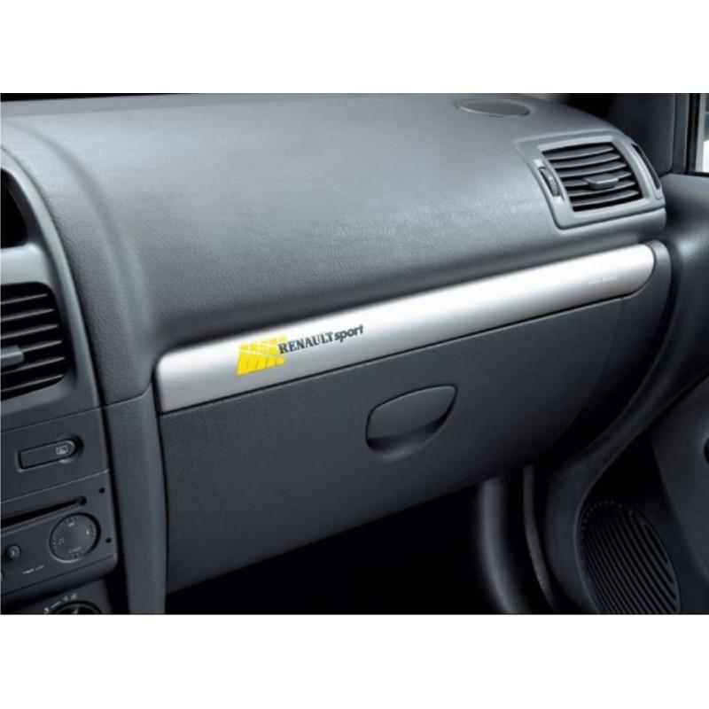 1 autocollant Renault Sport pour boite a gants (ou autre)