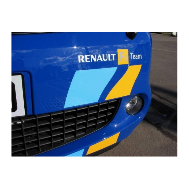 Autocollants Renault F1 Team Pare Choc