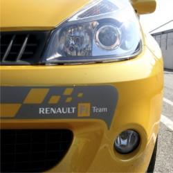 autocollant de pare choc avant - Renault F1 Team