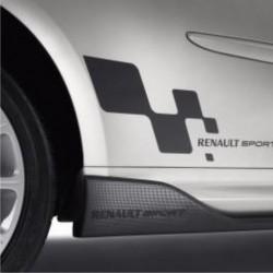 2 autocollants Renault Sport Bas de Caisse