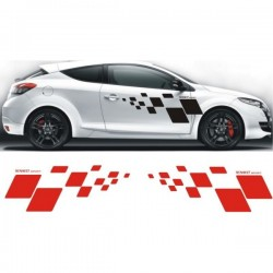 Kit stickers damier Renault Sport