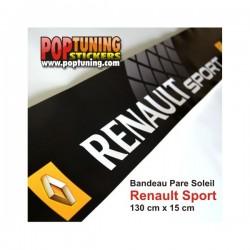 Bandeau pare soleil Renault Sport à moins de 10 €