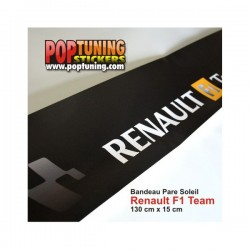 Bandeau pare soleil Renault F1 Team à moins de 10 €