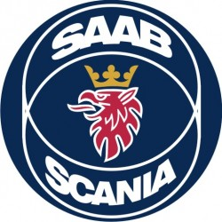 Sticker SAAB SCANIA 6 - Taille au choix