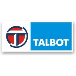 Sticker Talbot 2 - Taille au choix