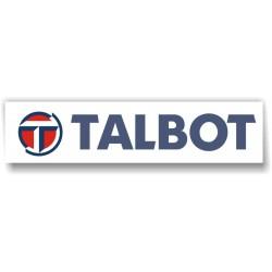Sticker Talbot 3 - Taille au choix