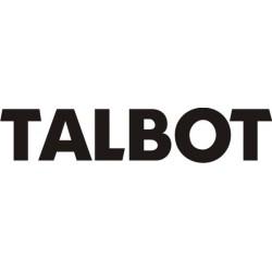 Sticker Talbot 4 - Taille et coloris au choix