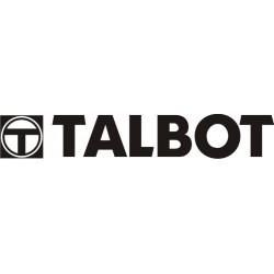 Sticker Talbot 5 - Taille et coloris au choix