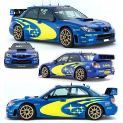 Kit déco pour Subaru Impreza WRC 2006