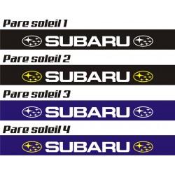 Bandeau pare soleil Subaru - 130 cm x 15 cm
