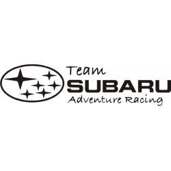 Sticker Team Subaru - Taille et Coloris au choix