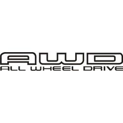 Sticker AWD 2 - Taille et Coloris au choix