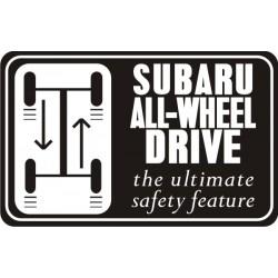 Sticker AWD 3 - Taille au choix