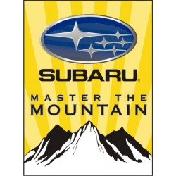 Sticker Subaru Mountain - Taille au choix