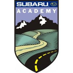Sticker Subaru Academy - Taille au choix