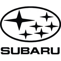 Sticker Subaru 2 - Taille et Coloris au choix