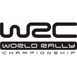 Sticker WRC - Taille et Coloris au choix