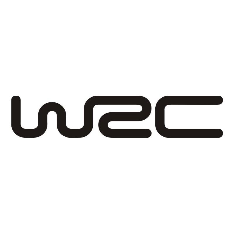 Sticker WRC 1 - Taille et Coloris au choix