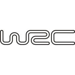 Sticker WRC 2 - Taille et Coloris au choix