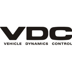 Sticker Subaru VDC - Vehicle Dynamics Control
