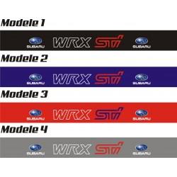 Bandeau pare soleil Subaru WRX STI - 130 cm x 15 cm