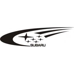Sticker Subaru côté 1 - Coloris et Taille au choix
