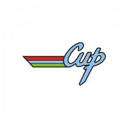 Autocollant de malle Volkswagen Cup de 10 cm de long
