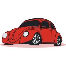 Sticker Cox Volkswagen - Taille au choix