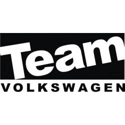 Sticker Team Volkswagen - Taille et Coloris au choix