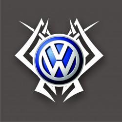 Sticker Tribal Volkswagen - Taille au choix