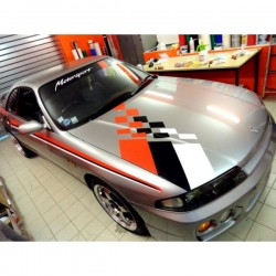 Déco de capot Nissan Skyline - 55 cm x 130 cm