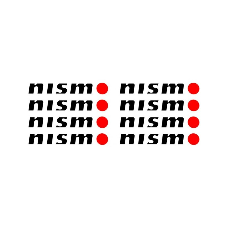 Pack de 8 Stickers Nismo