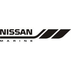 Sticker Nissan Marine - Taille et coloris au choix