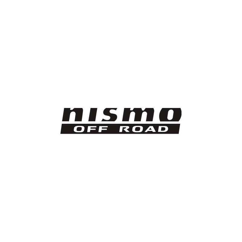 Sticker Nismo 2 - Taille et coloris au choix