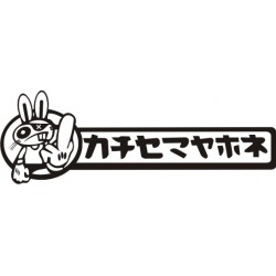 Sticker JDM Japan car - Taille et coloris au choix