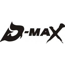 Sticker D-MAX - Taille et coloris au choix