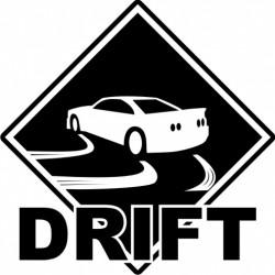 Sticker Drift Skyline - Taille et coloris au choix