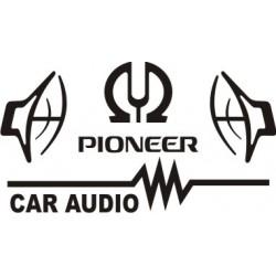 Sticker Pioneer 5 - Taille et coloris au choix