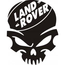 Sticker Crâne Land Rover - Coloris et Taille au choix