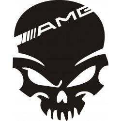 Sticker Crâne AMG - Coloris et Taille au choix