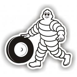 Autocollant Michelin 7 - Taille au choix