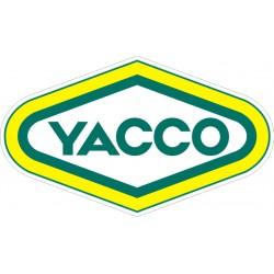 Yacco - Autocollant Taille au choix
