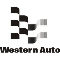 Sticker Western Auto - Taille et coloris au choix