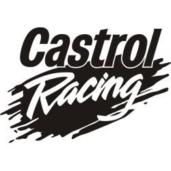 Sticker Castrol Racing - Taille et coloris au choix
