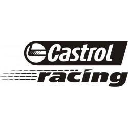 Sticker Castrol Racing 2 - Taille et coloris au choix