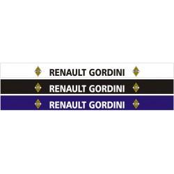 Bandeau pare soleil Renault Gordini