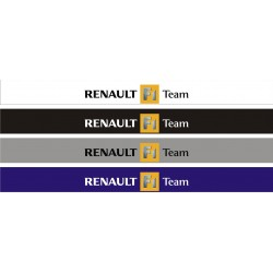 Bandeau pare soleil Renault F1 Team