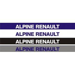 Bandeau pare soleil Renault Alpine 1